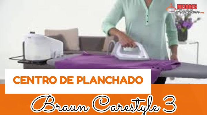 Centro de Planchado Braun Carestyle 3