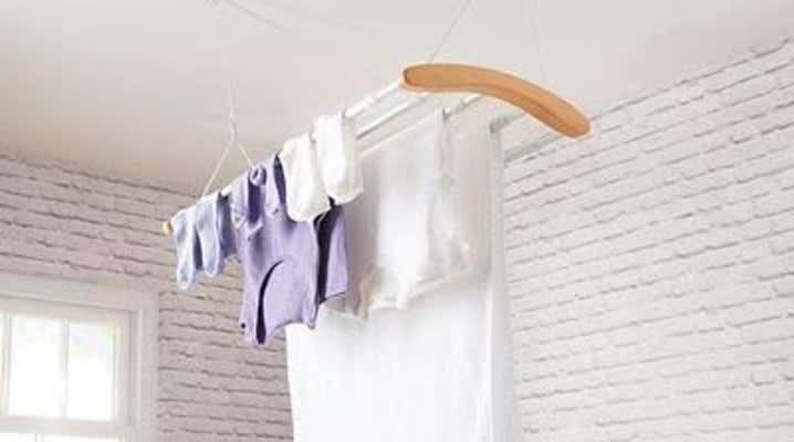 tendedero de ropa interior